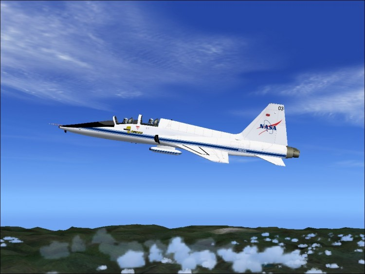 Wallpapers Video Games Wallpapers Flight Simulator T 38 Nasa by 750x563