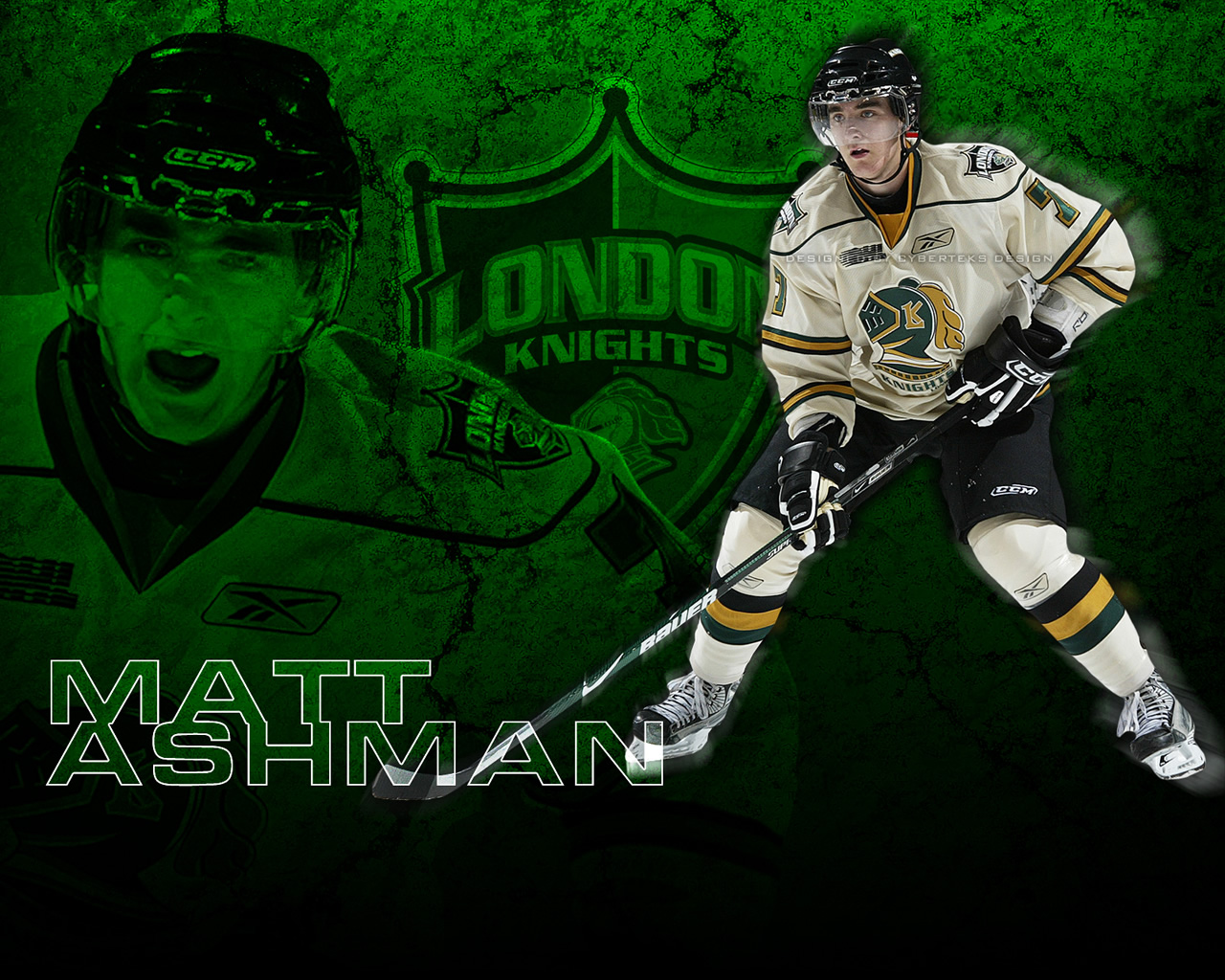 Object Moved: London Knights Wallpaper
