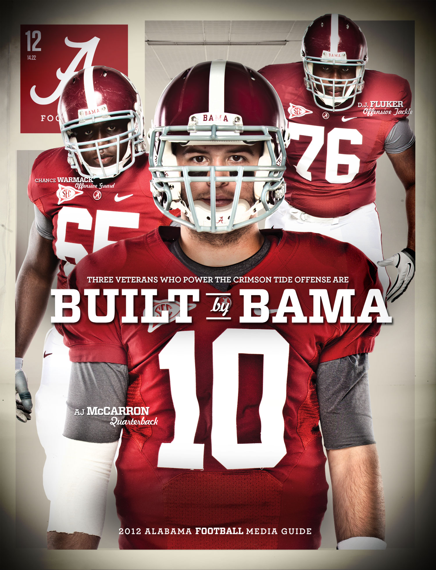 Alabama Football Media Guide Covers HD Background Wallpaper 1500x1964