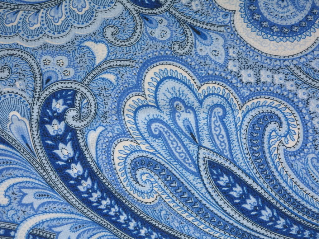 Download blue paisley wallpaper gallery for Paisley wallpaper