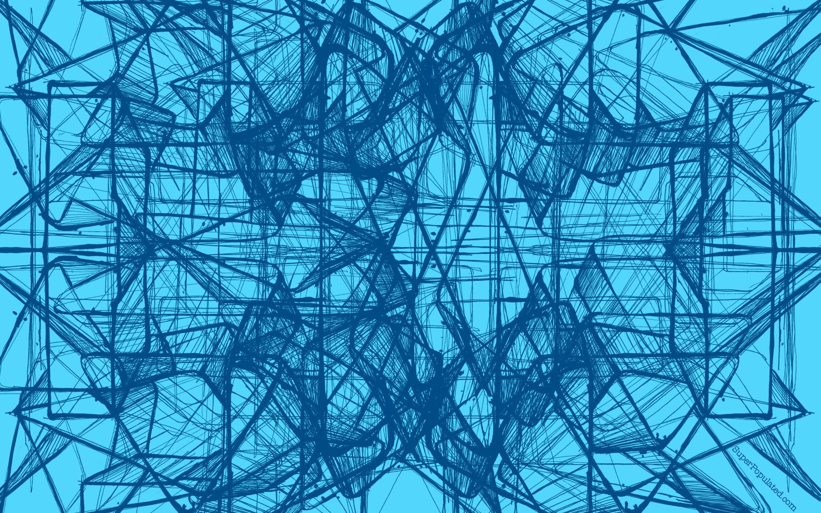 Fabric Wallpaper Geometric Wallpaper 1680x1050