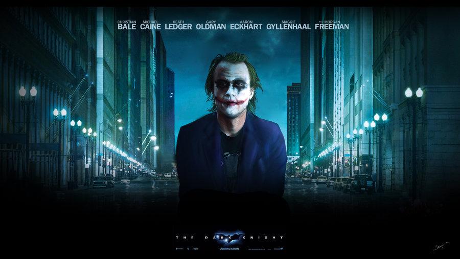 Joker wallpaper wide by Skipina 900x506