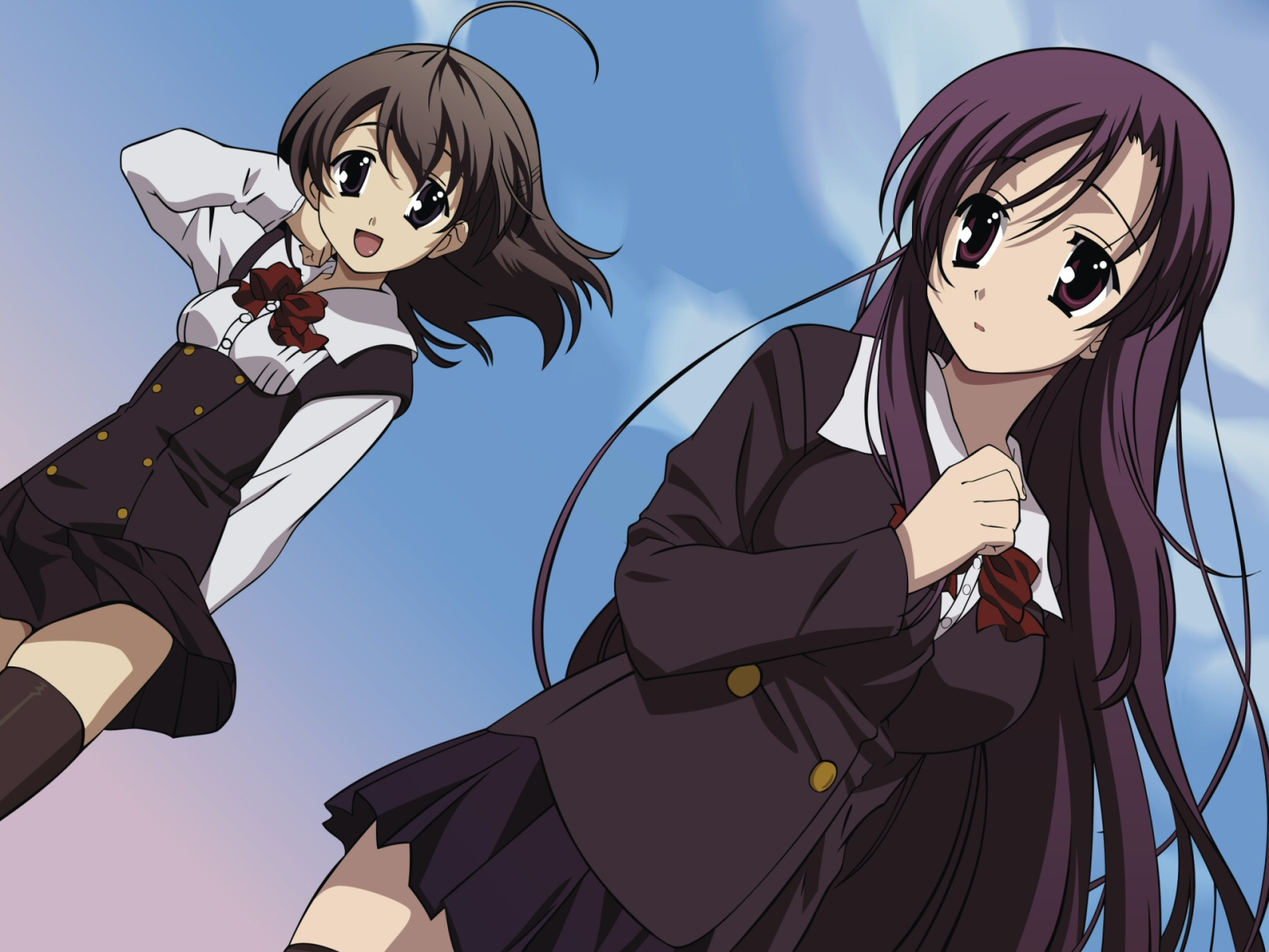 School Days wallpapers Anime HQ School Days pictures 4K 1600x1200