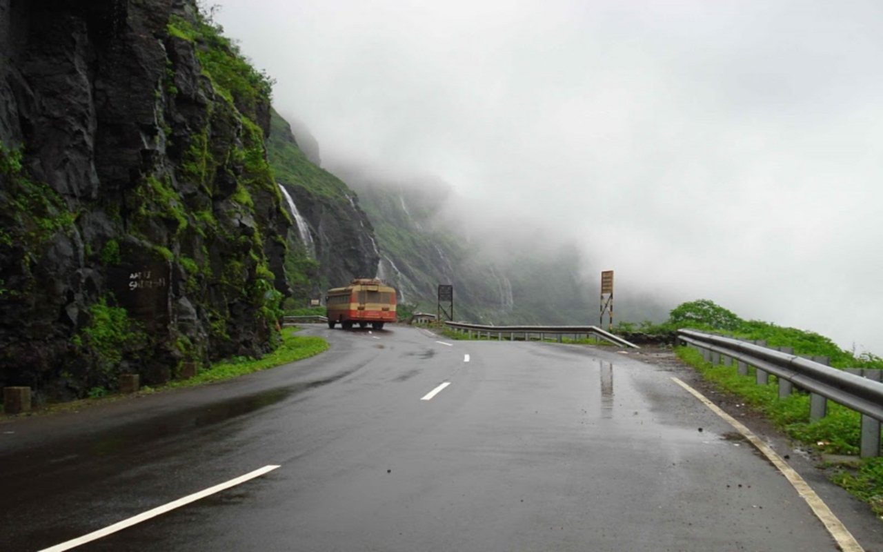 1280x800 India Roads desktop PC ...