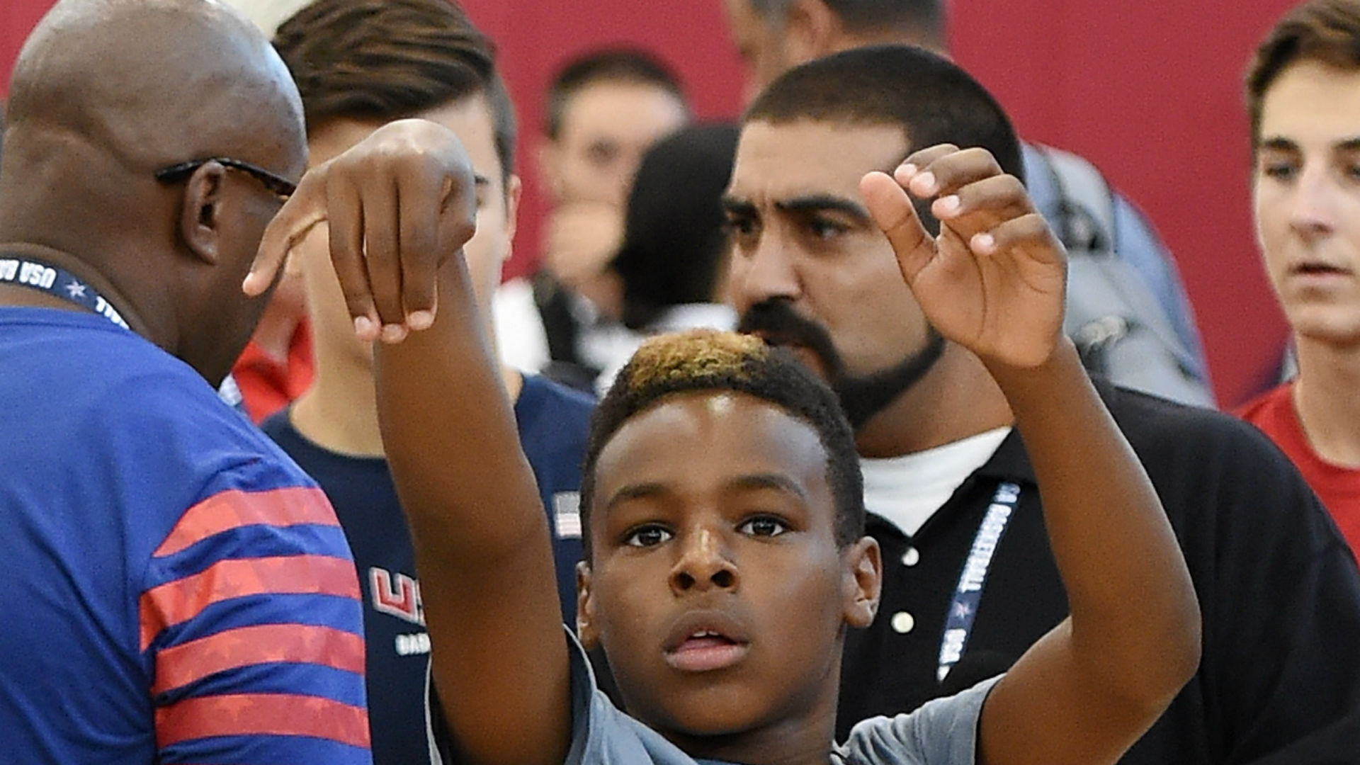 Is 12 year old LeBron James Jr better than his dad was at the 1920x1080