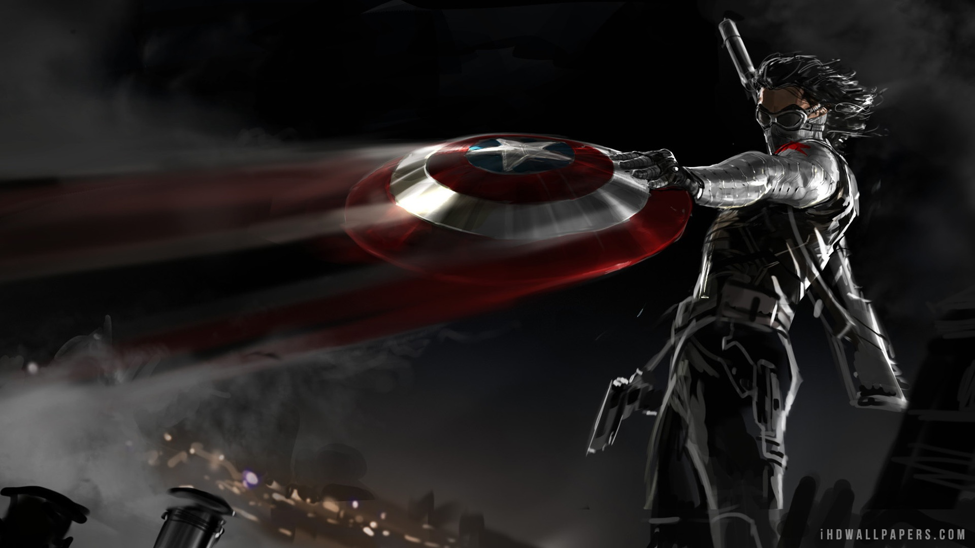 Captain America The Winter Soldier HD Wallpaper   iHD Wallpapers 1920x1080