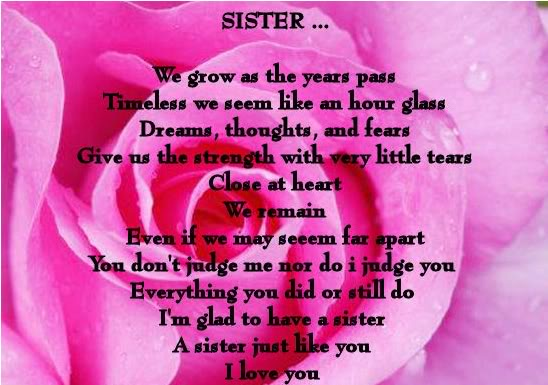 Free download Love My Sister Quotes Love Quotes [548x385