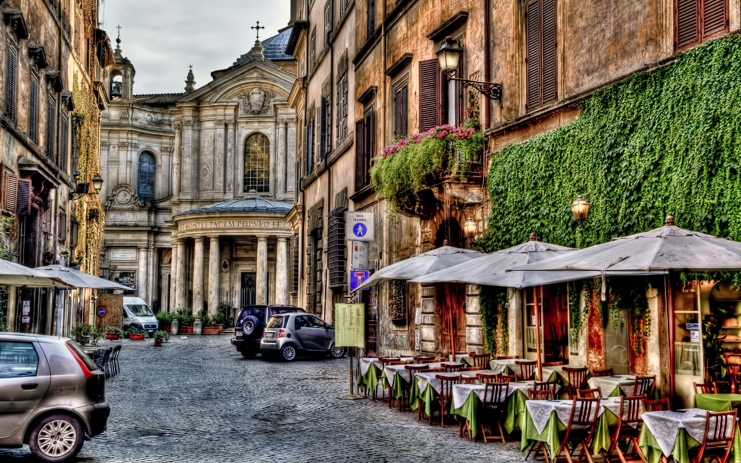 Rome Streets   wallpaper 2560x1600