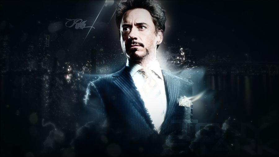 Free Download Tony Stark Wallpaper Robert Downey Jr By