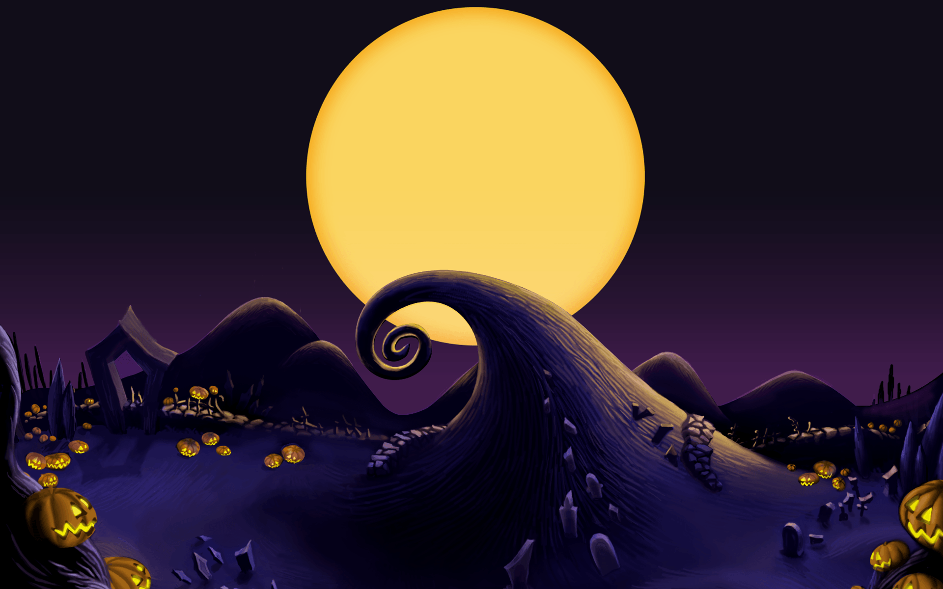 Nightmare Before Christmas Wallpapers HD 1920x1200