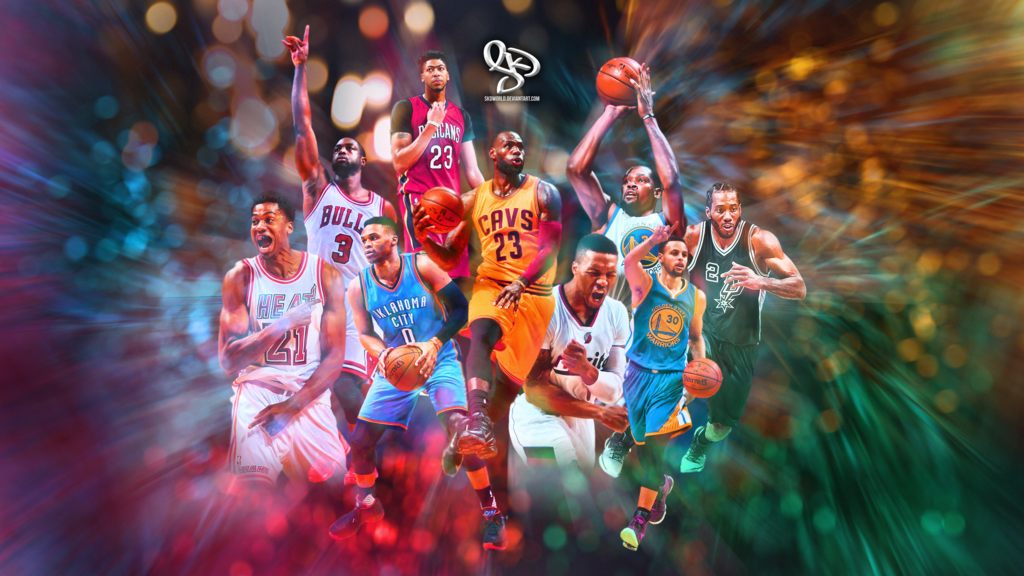 2016 2017 NBA Season Wallpaper by SkdWorld 1024x576