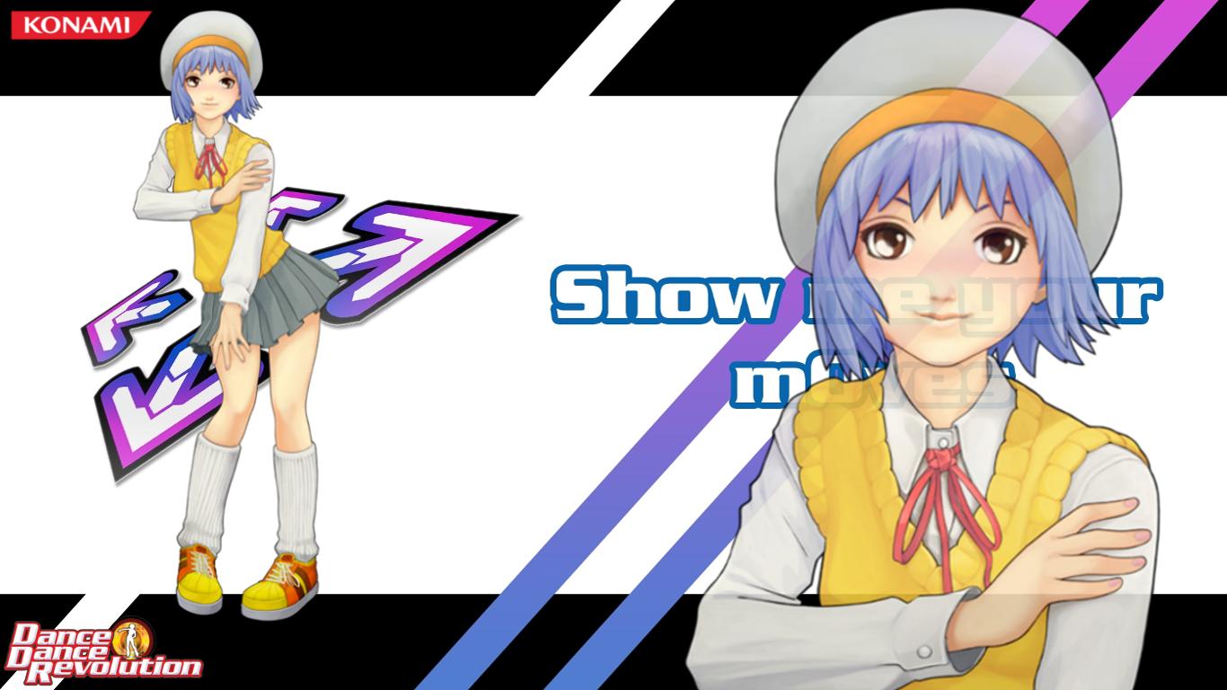 Dance Dance Revolution Emi Toshiba Wallpaper by Rookie Rockstar on 1366x768