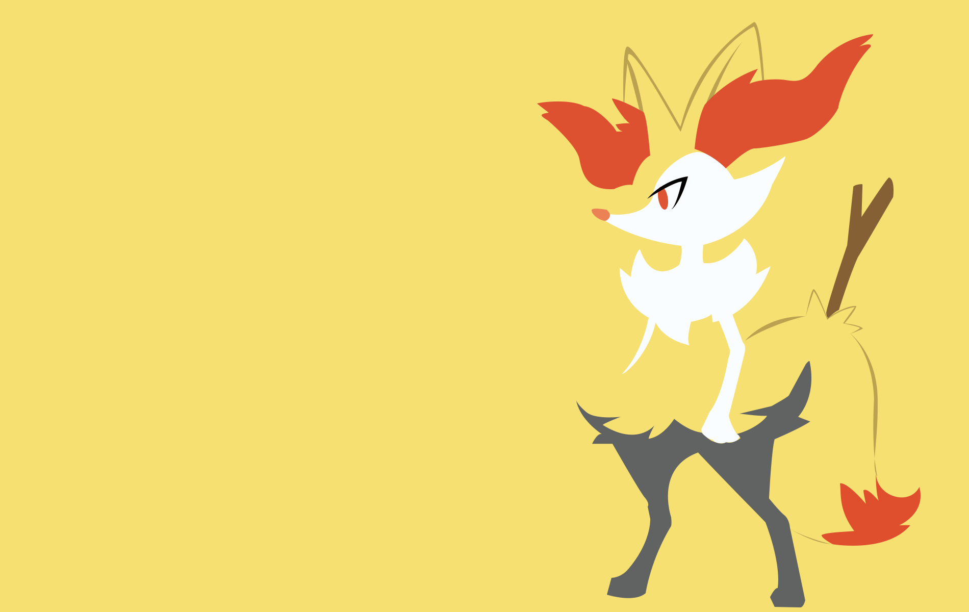 Braixen by PokeTrainerManro 1900x1200