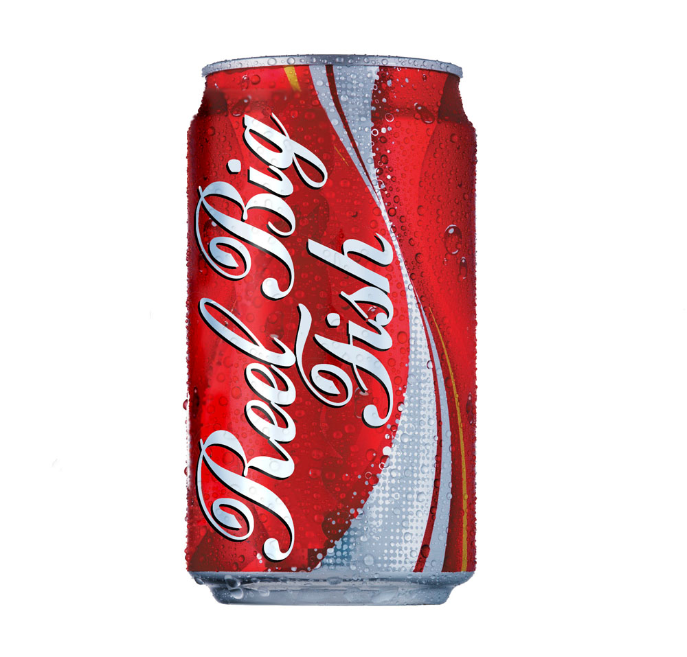 Reel Big Fish Coke Can by Everything Sucks 1000x957
