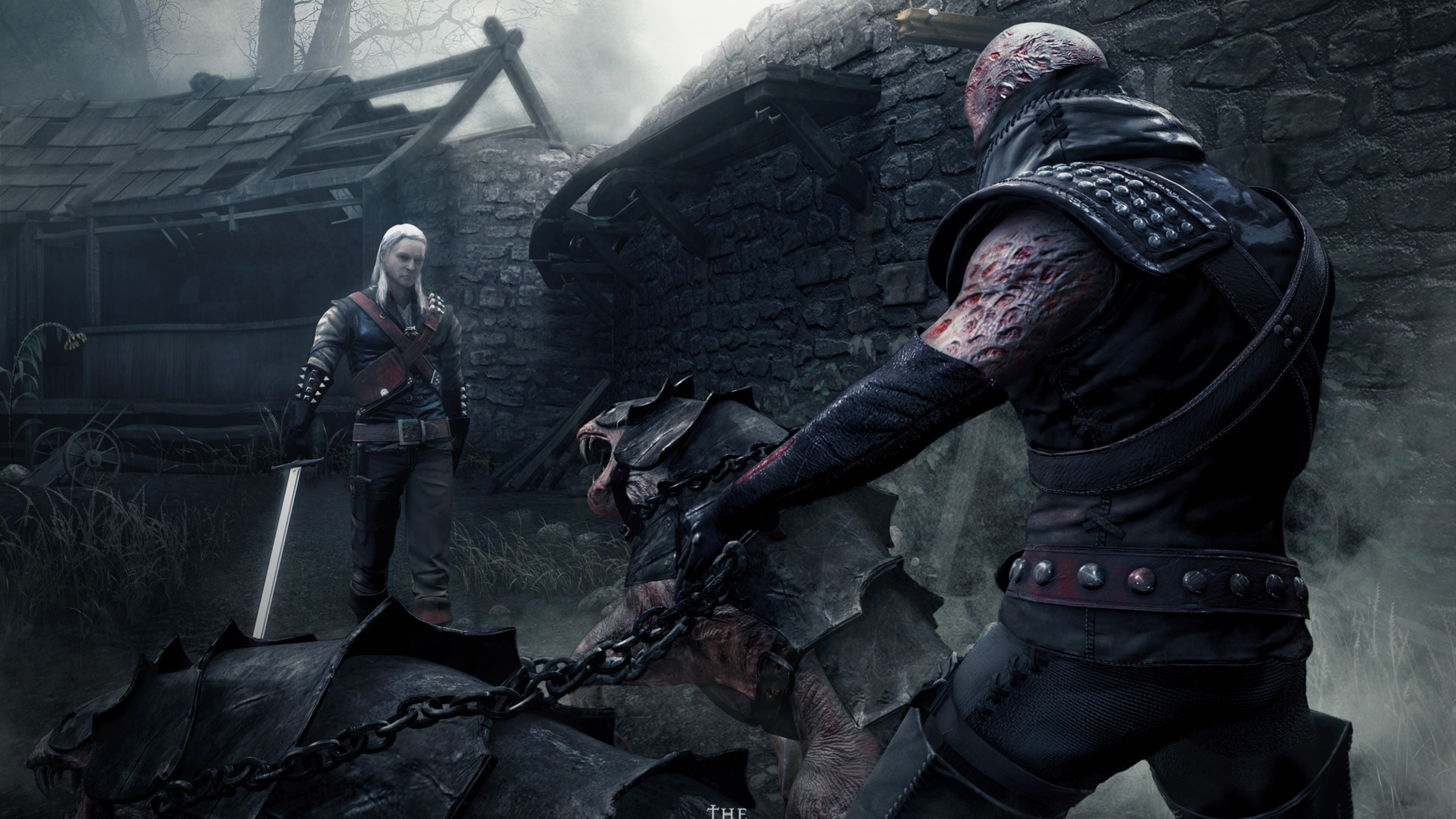 Free Download Download Wallpaper 3840x2160 The Witcher Warrior
