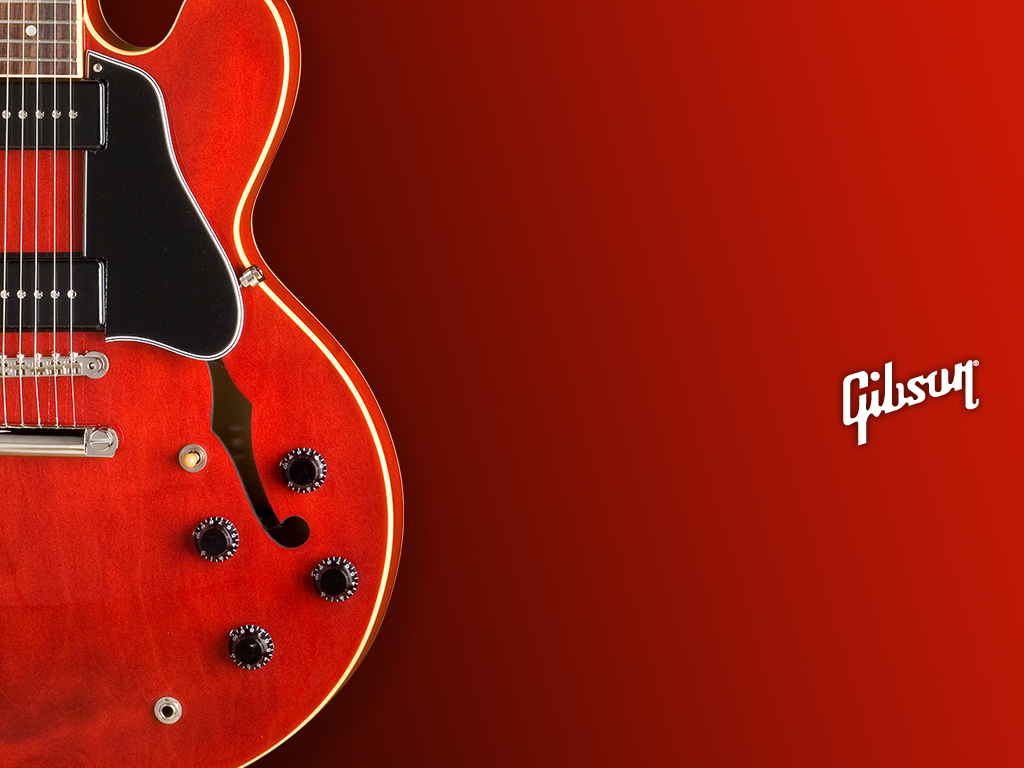 Epiphone Wallpapers: Gibson Wallpaper