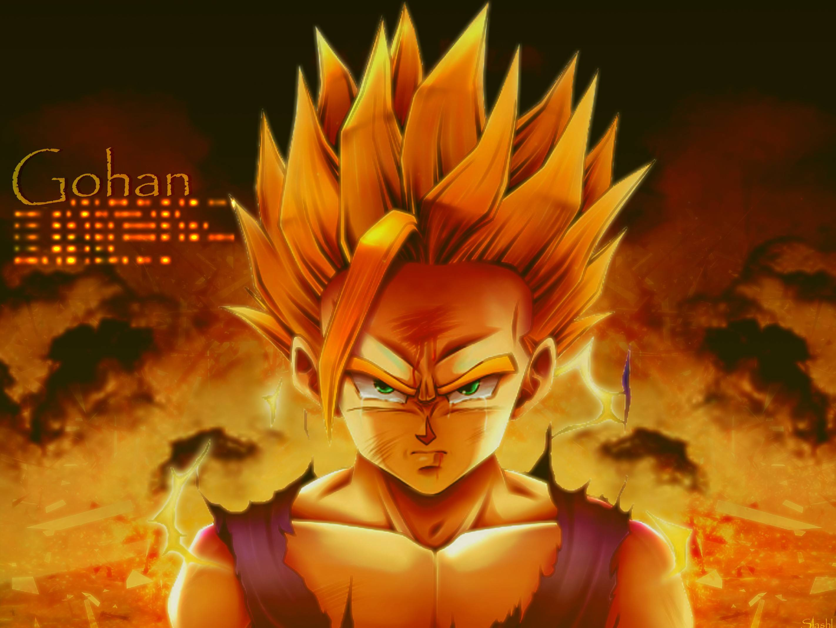 DBZ Wallpaper Gohan - WallpaperSafari Dragon Ball Z Goku Super Saiyan 6 Wallpapers