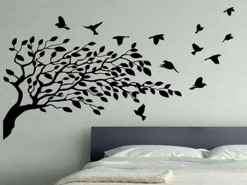 Home Walls Bird Wallpaper For Walls Decor Flying Birds Wallpaper 800x600