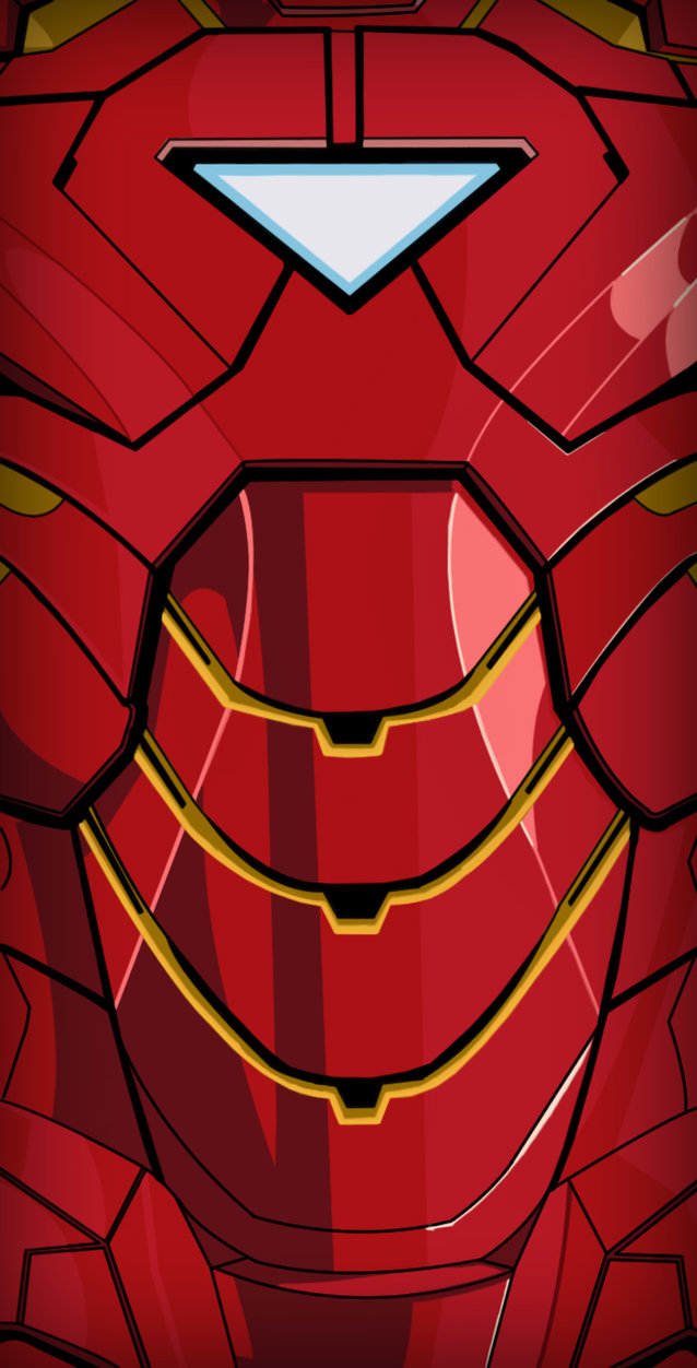 Iron Man Mark VI IPhone Wallpaper by IVANJC775 638x1252