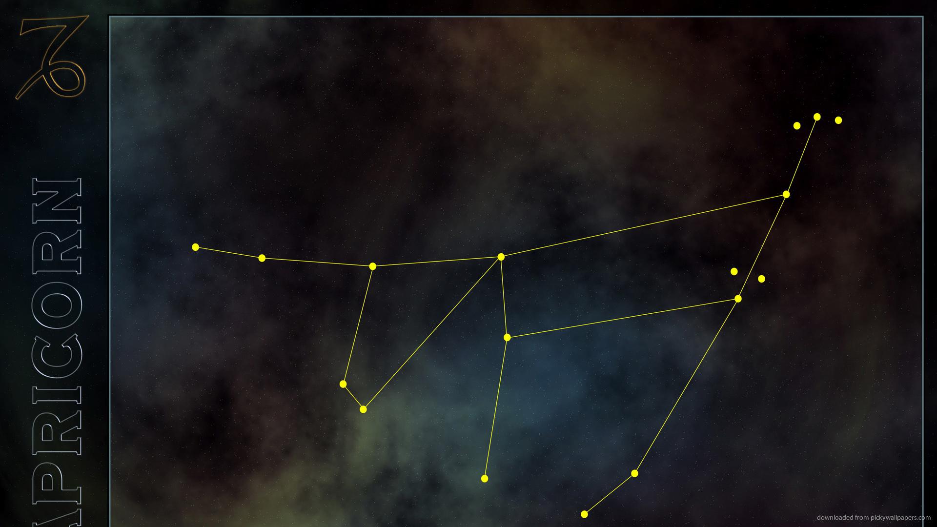 HD Capricorn Constellation Wallpaper 1920x1080