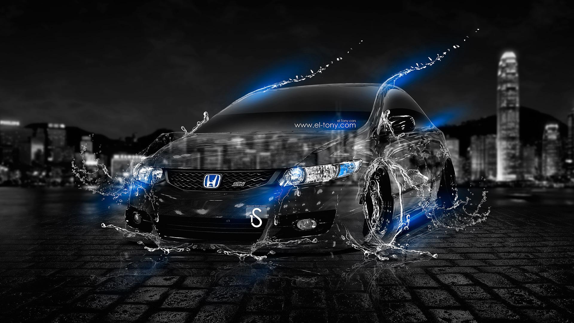 30  Amazing <b>Cars</b> Photos with Photoshop <b>Water</b> Effect