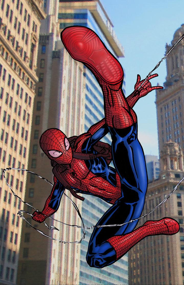 Ultimate spiderman comic wallpaper