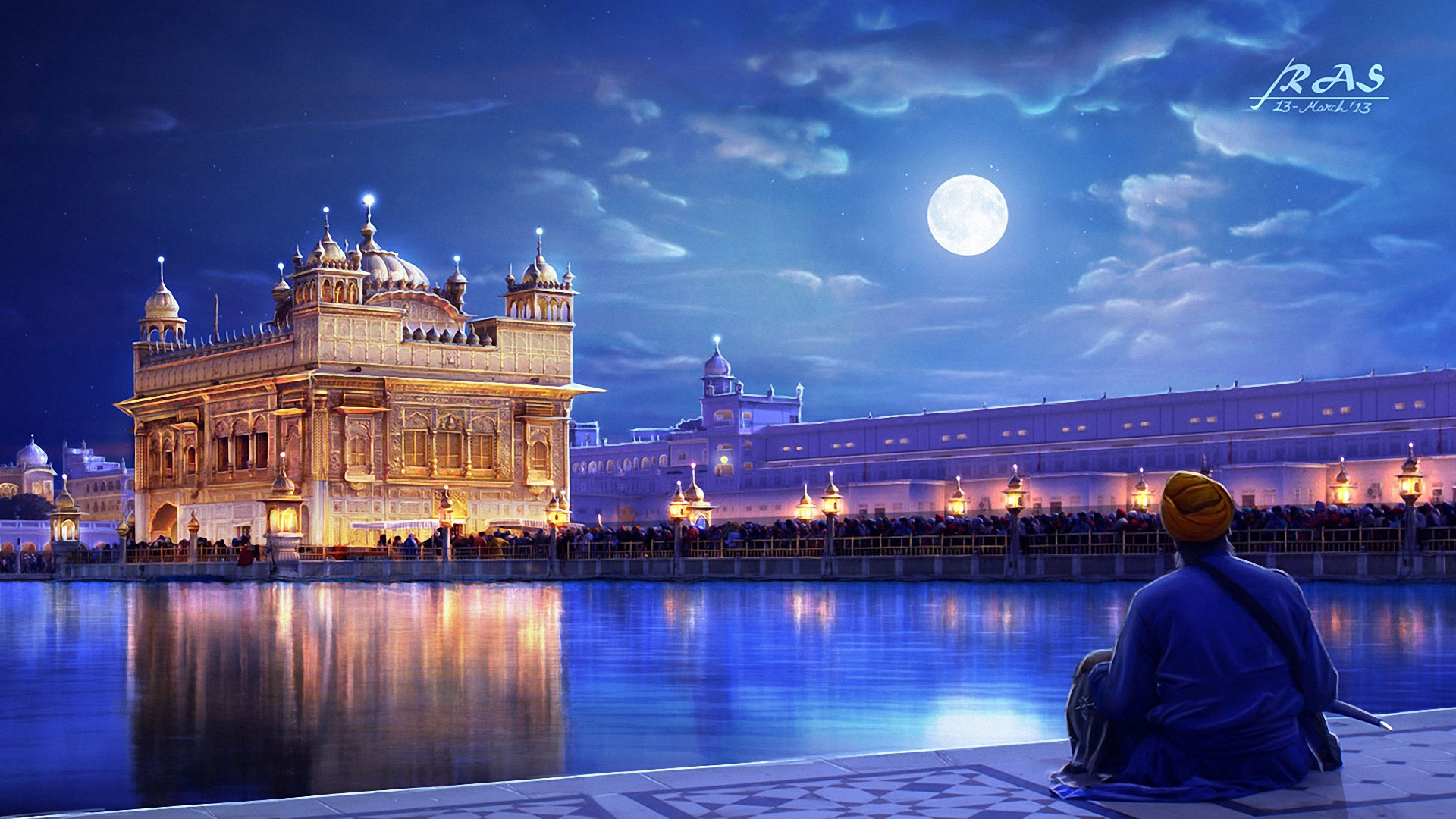 Hd wallpaper india - Golden Temple Amritsar Punjab India Wallpapers Hd Wallpapers