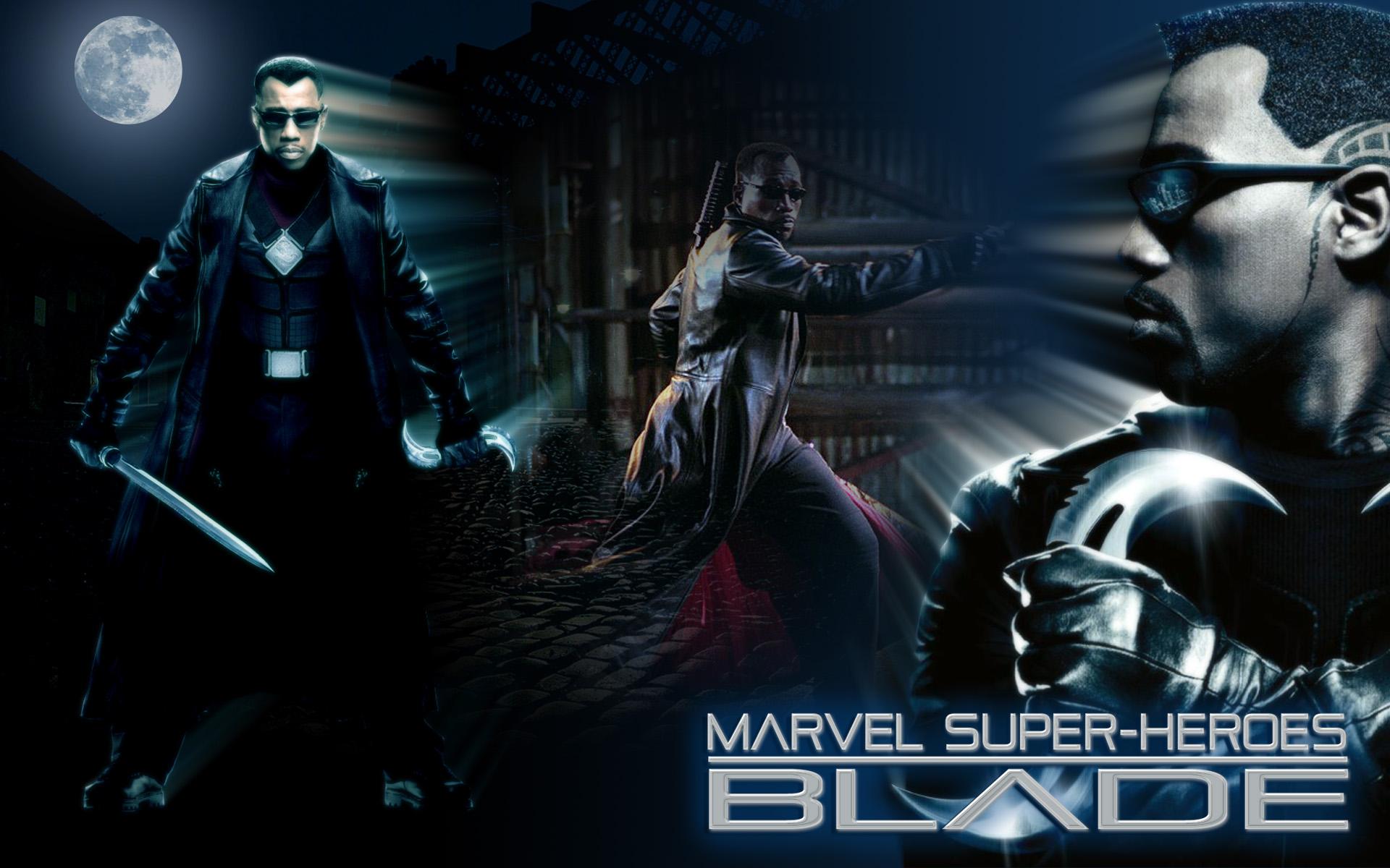 marvel super heroes blade wallpaper 1920x1200