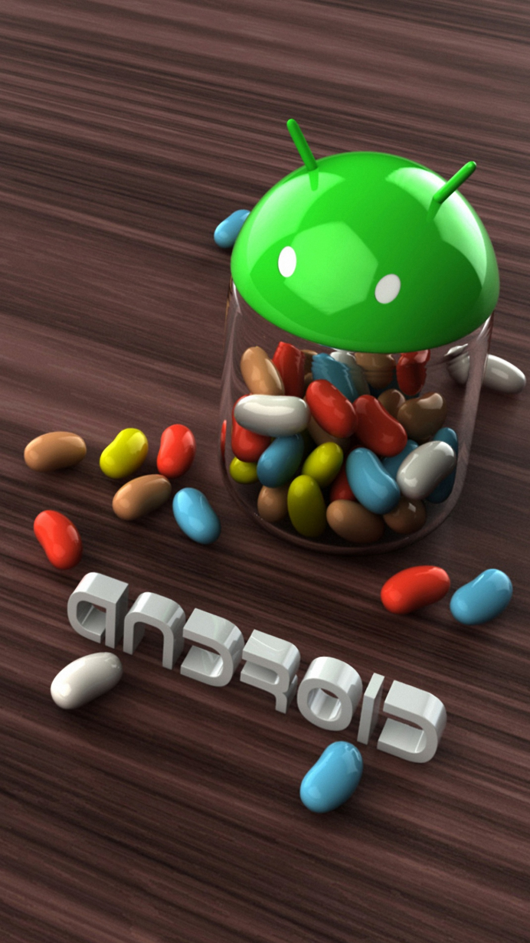 HD android pill 3d wallpaper for iPhone 6 6s plus 1080x1920