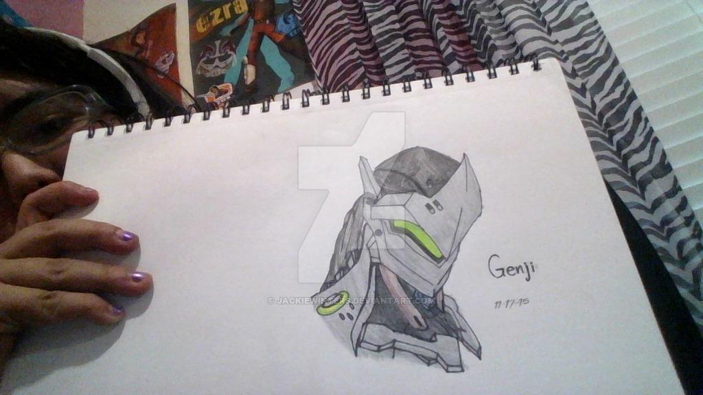 Overwatch Genji by JackieWinters 1024x576