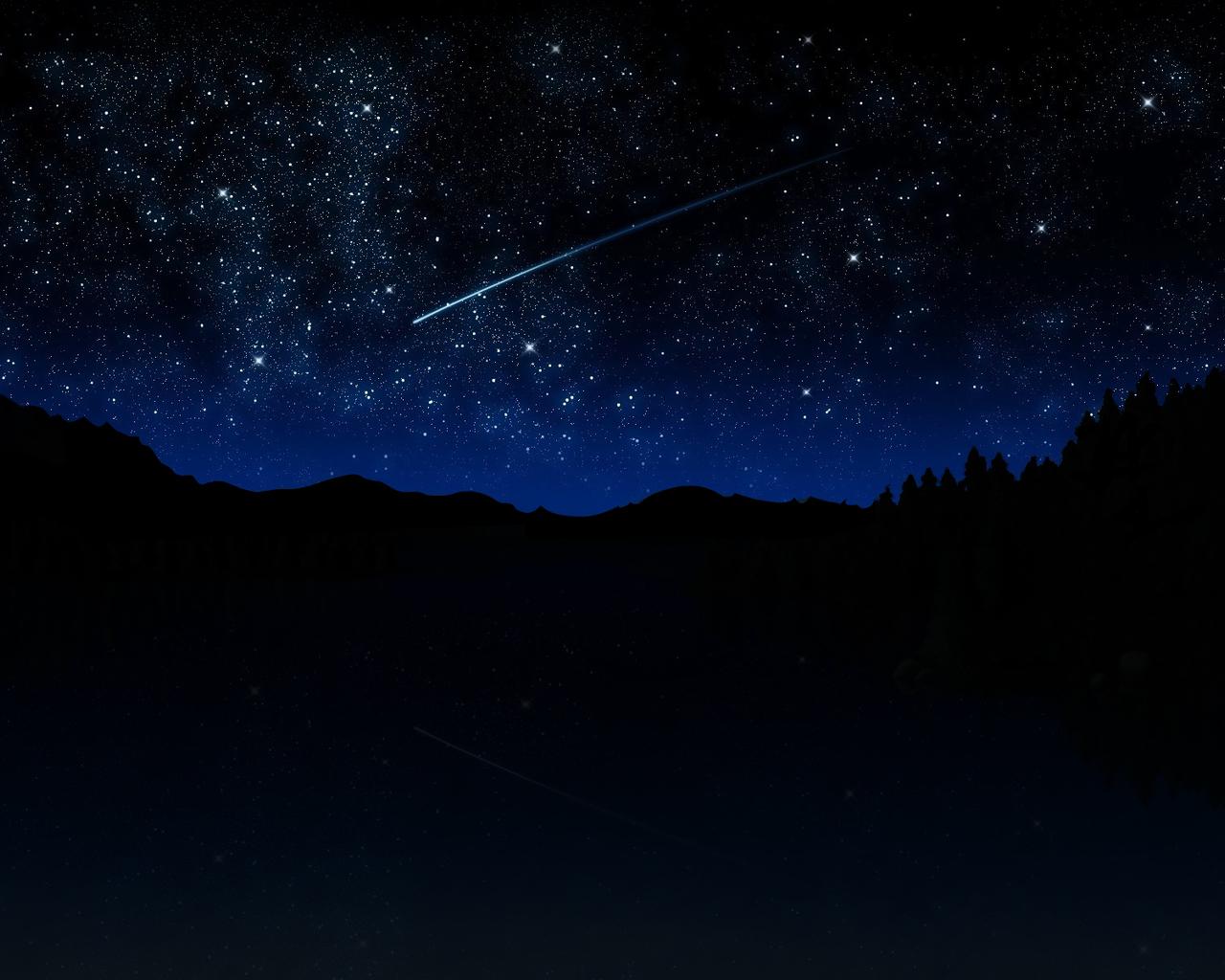Night Sky Stars Wallpaper Hd 1280x1024