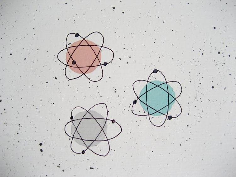 Retro Atomic Wallpaper Wallpapersafari