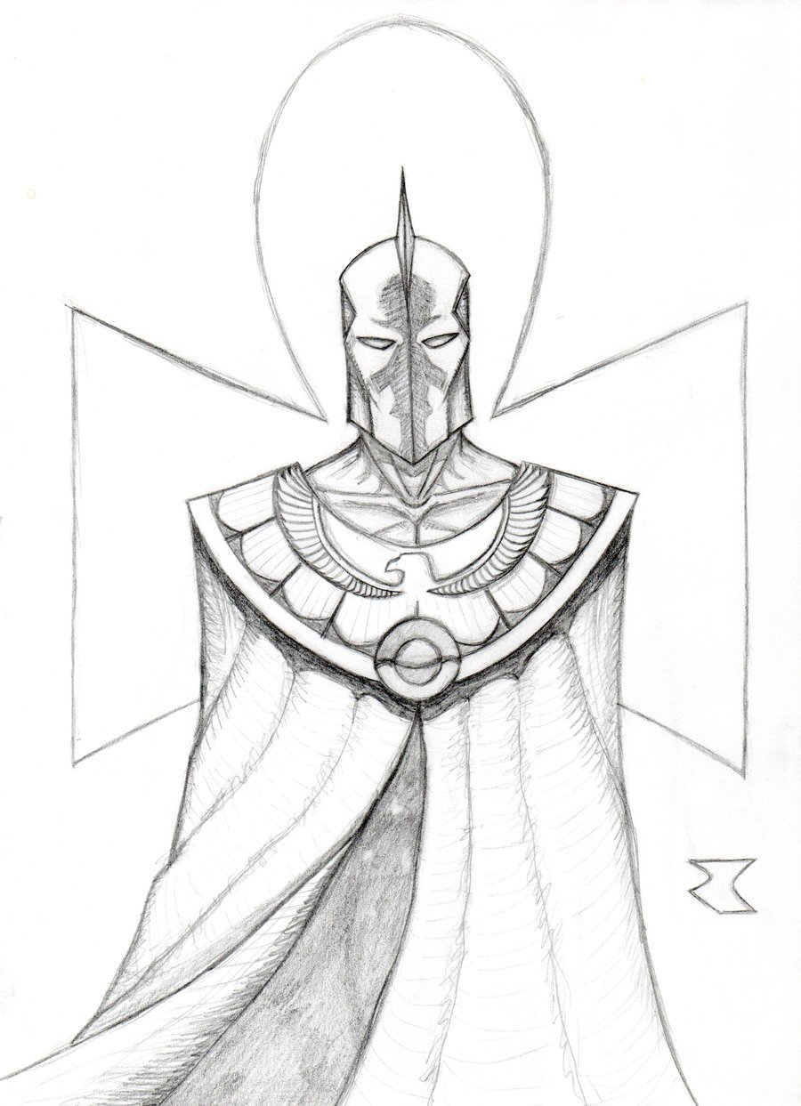 Doctor Fate redesign by BigRobot 900x1243