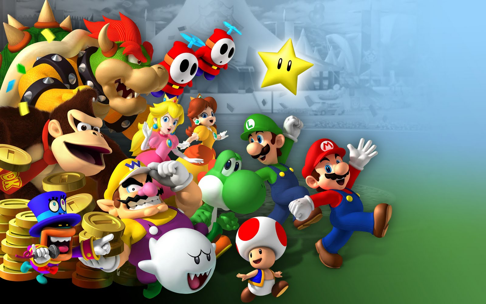 Super Mario Game Wallpapers   HD Backgrounds 1600x1000
