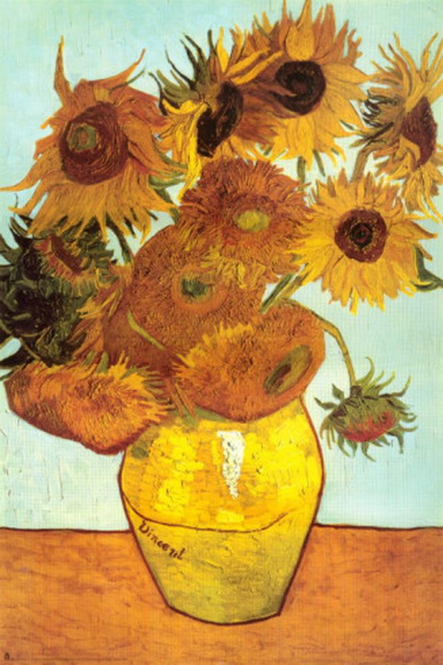Van Gogh Sunflowers Wallpaper - WallpaperSafari