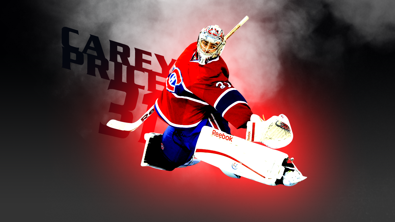 Carey Price Wallpapers Montreal Habs Montreal Hockey 21 1366x768