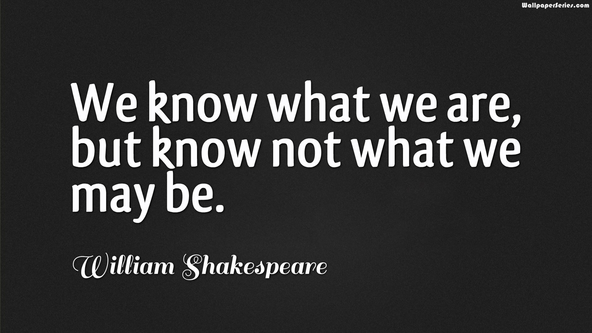 William Shakespeare Quotes Wallpapers HD Backgrounds Download 1920x1080