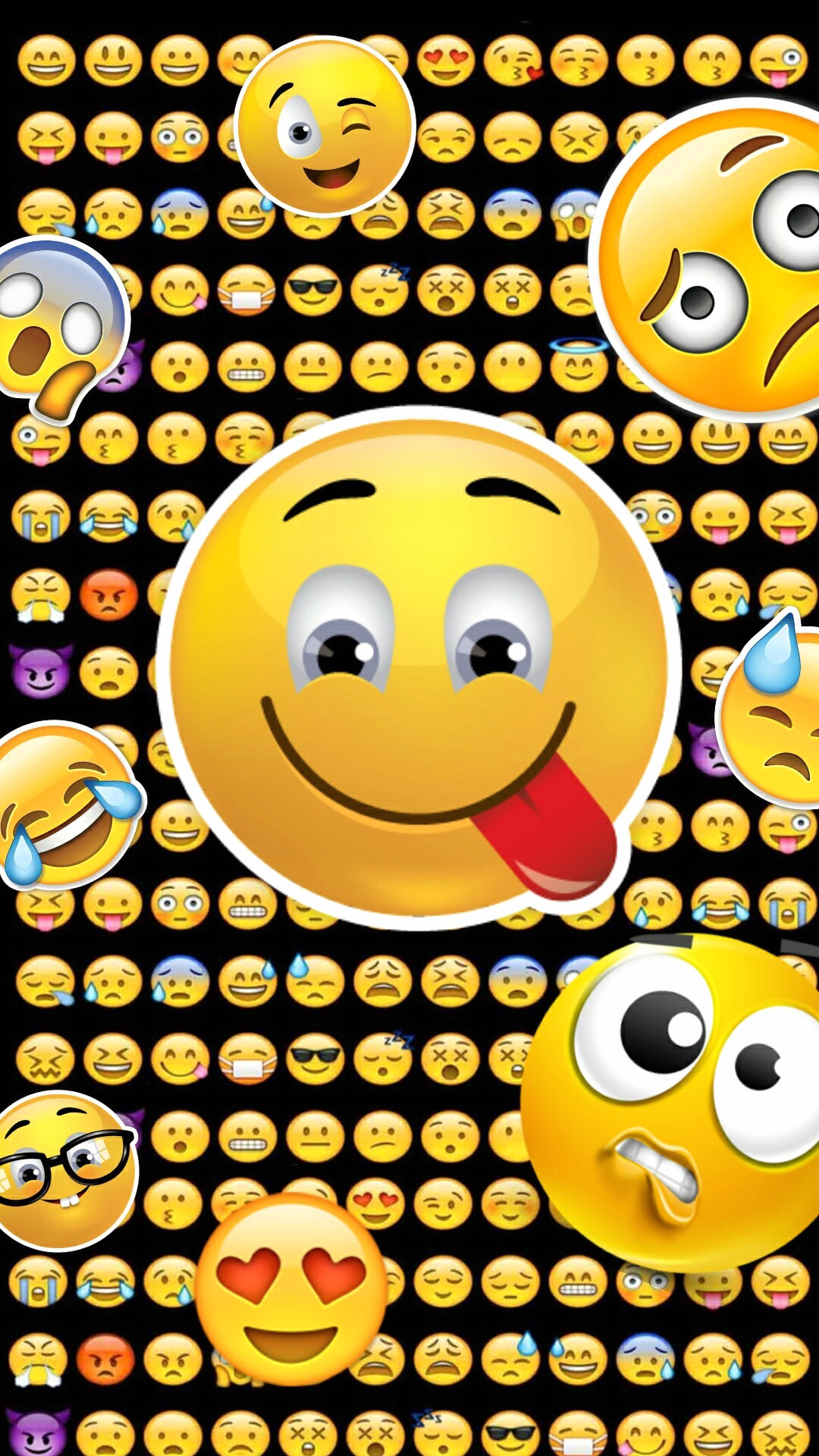 Free download 63 Cute Emoji Wallpapers