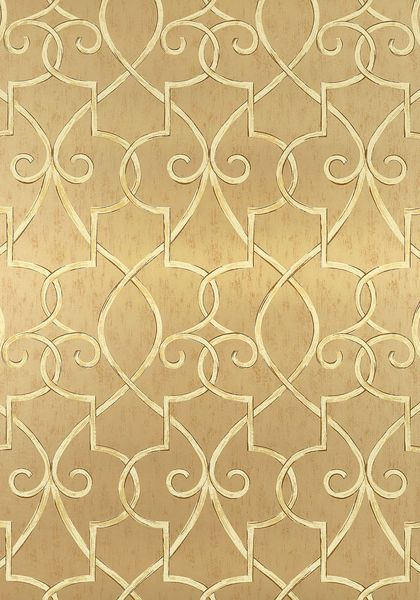 Graydens hand drawn trellis offers soft yet simplistic elegance 420x600