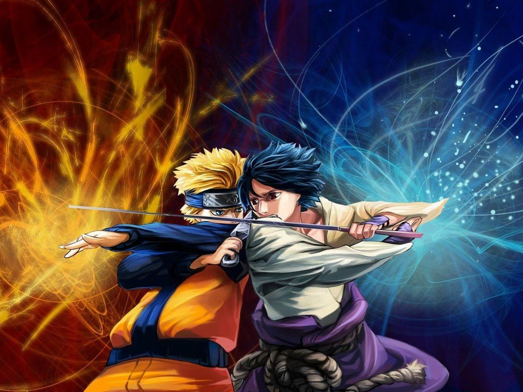 50 Naruto Vs Sasuke Hd Wallpaper On Wallpapersafari
