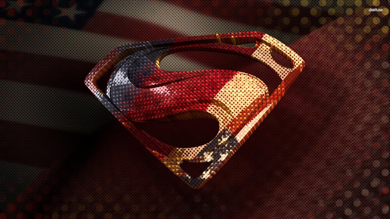 Superman logo cool wallpaper HD Desktop Wallpapers 1280x720