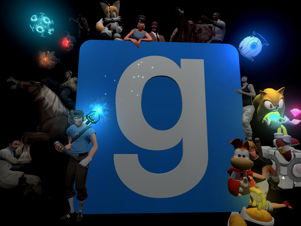 Free download Garrys Mod Background 2 by Eshap [1152x864] for your