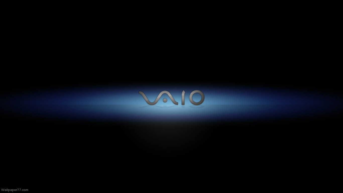Vaio Wall Paper Black: Black ASUS Wallpaper 1366x768