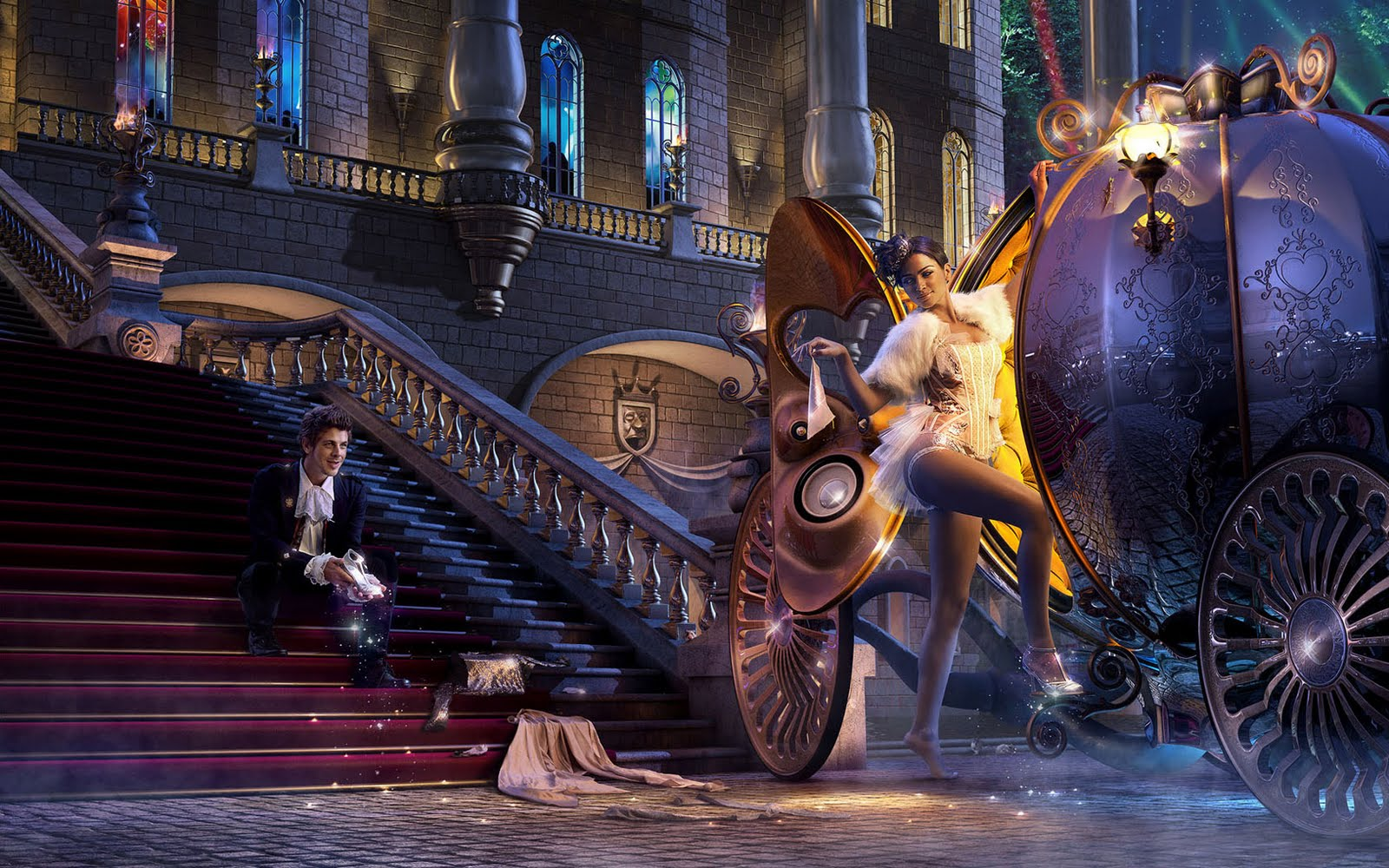 Strictly Wallpaper Grown Up 3D Fairy Tale Wallpapers 1600x1000