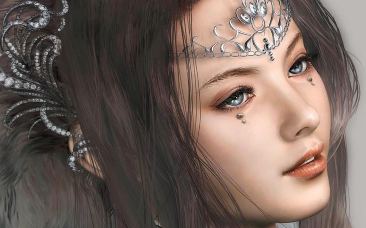3d princess beauty