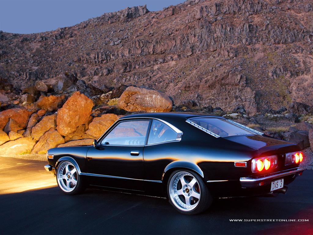 Mazda Rx 3 Savanna Classic Import Car Wallpaper 1024x768 Bild - 861,78 ...