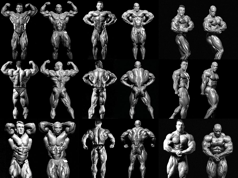 six star muscle Ronnie coleman wallpaper 1000x750