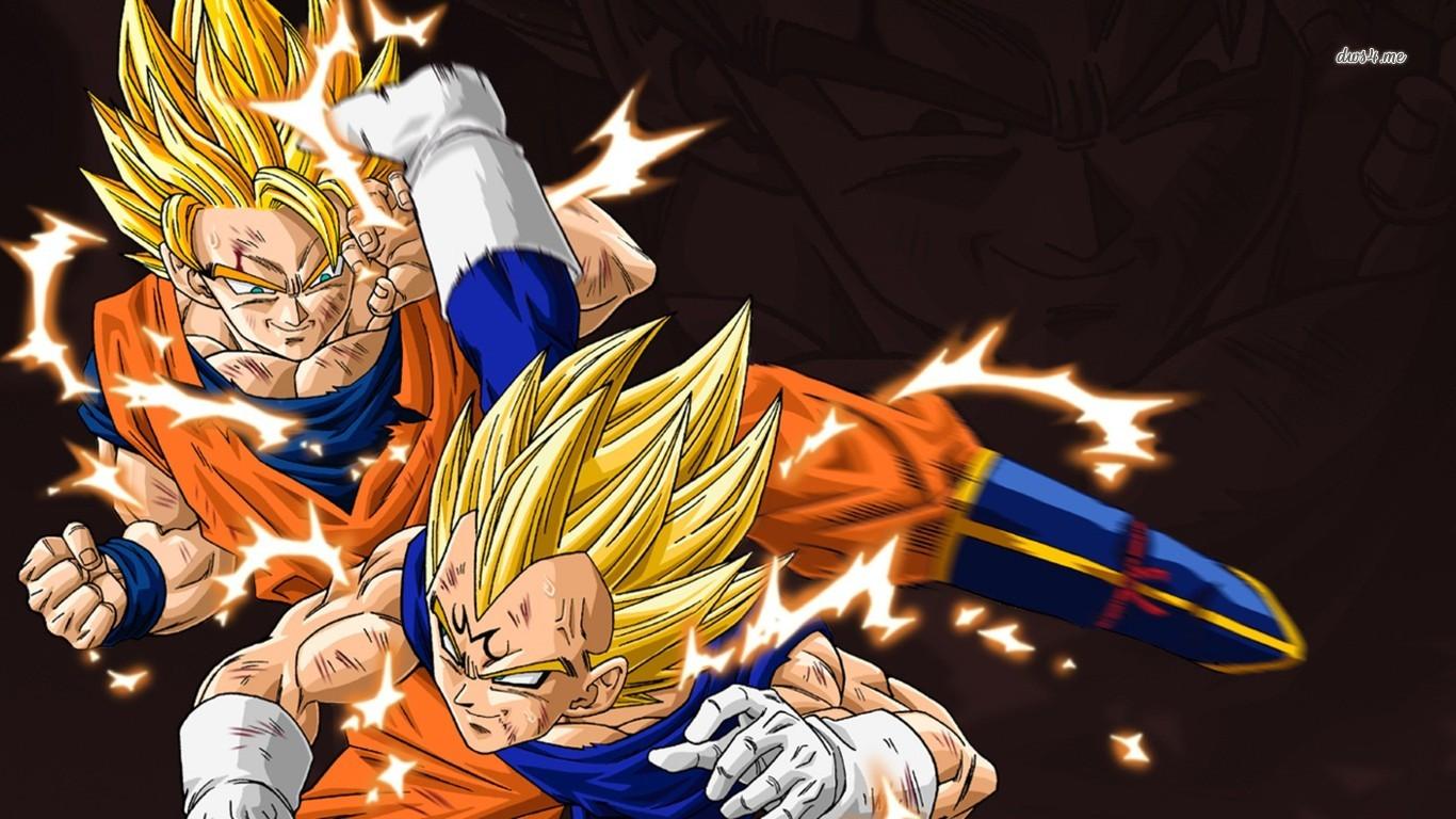 Anime Goku Vegeta Dragon Ball Z Dragon Ball 1366x768
