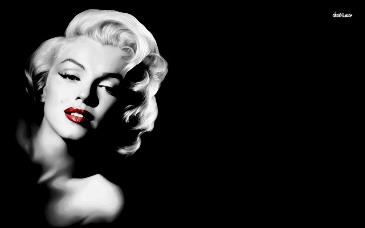 Gangsta Marilyn Monroe Wallpaper Wallpaper HD Desktop Widescreen 1280x800