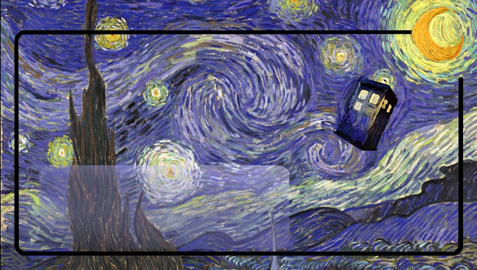 Doctor Who Wallpaper Tardis Van Gogh Tardis van gogh ps vita 960x544
